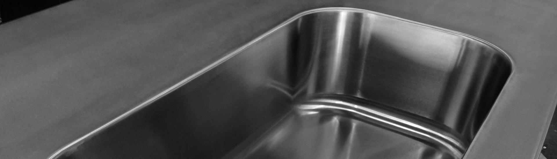 Stainless Commercial Sinks & Counters